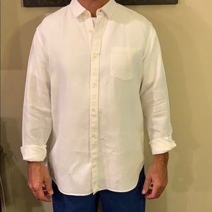 Banana Republic Camden Fit Lenin Shirt